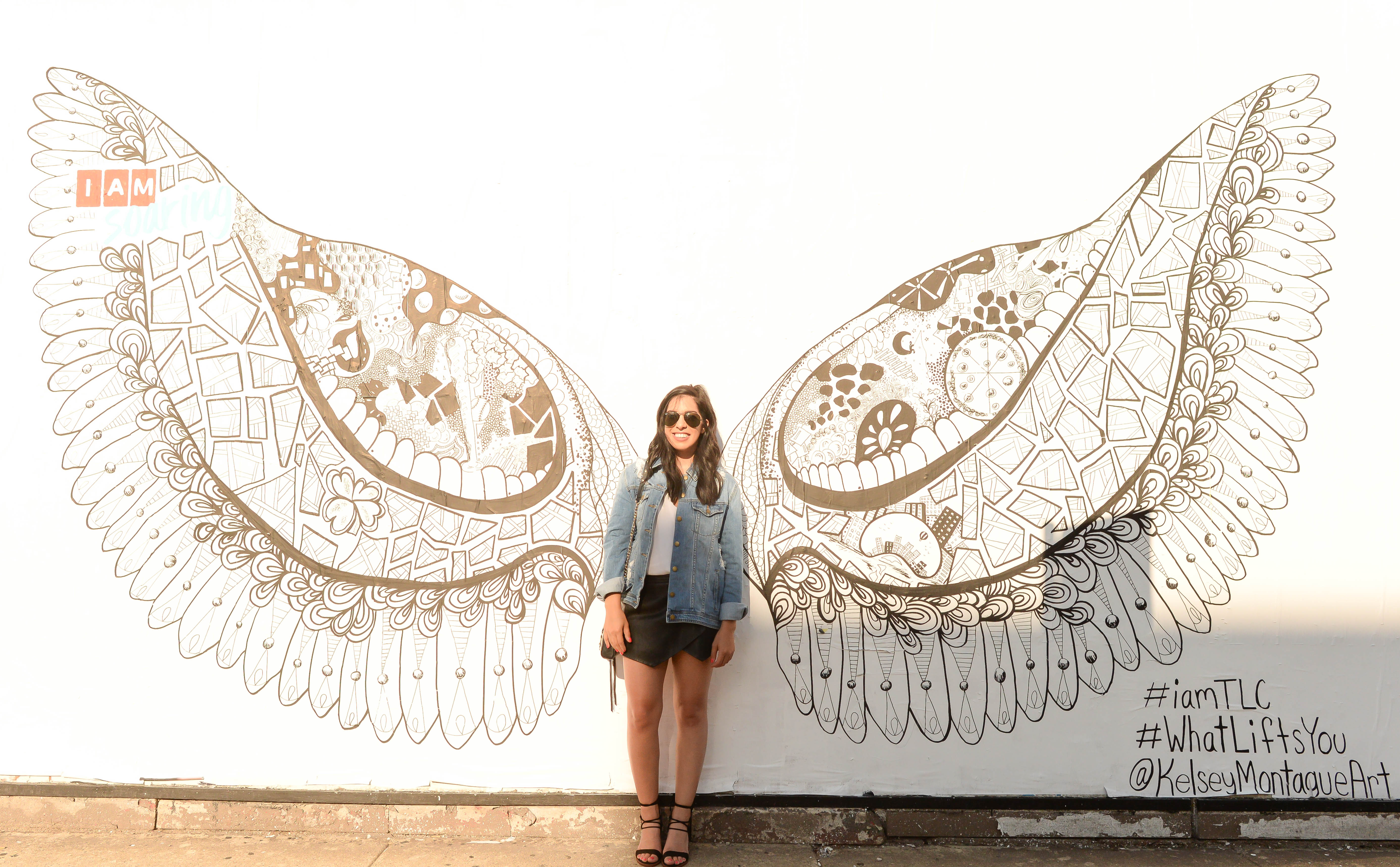 Spread My Wings and Fly Away