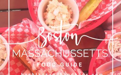 Boston Massachusetts Food Guide