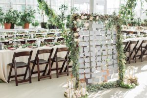 Our Greenhouse Wedding- A Nightmare Turned Fairytale