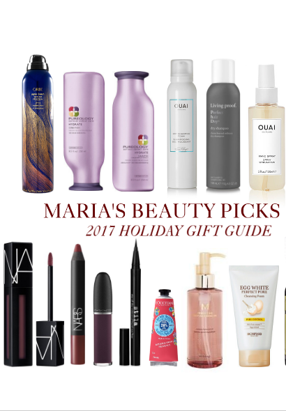 Maria's Beauty Picks- 2017 Holiday Gift Guide