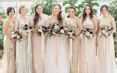 How to Pick the Perfect Mismatched Bridesmaid Dresses