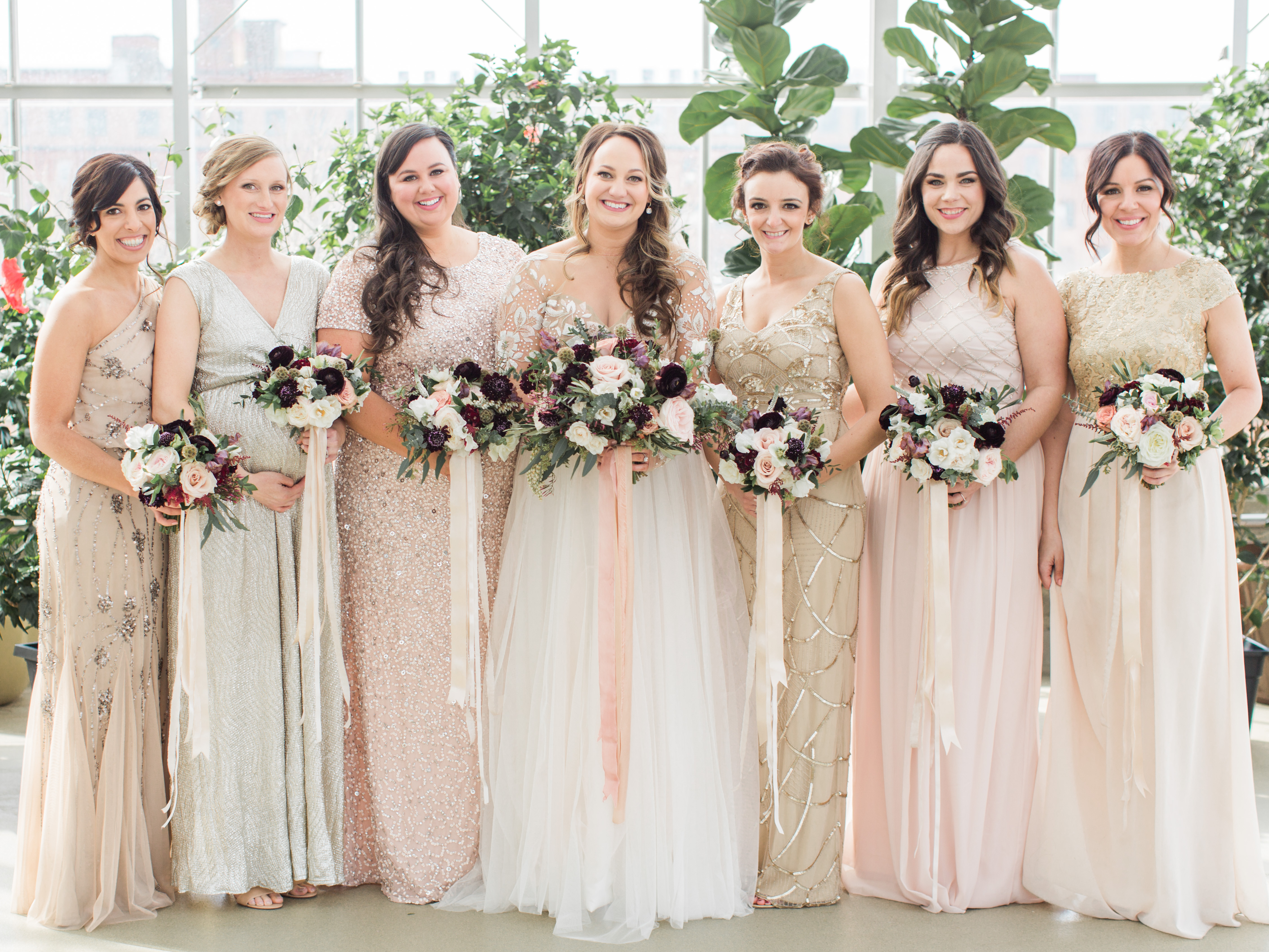 9a9b963d536 How to Pick the Perfect Mismatched Bridesmaid Dresses