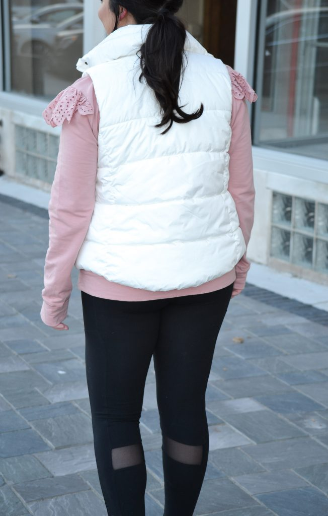 athleisure and gym outfit