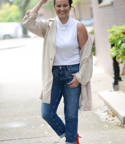 3 ways to wear pearl jeans chic city boss look