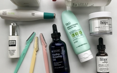 My Skincare Routine + What Moisturizing and Exfoliating products work for my dry winter skin!