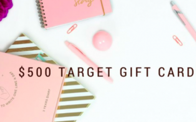 $500 Target Gift Card Giveaway!