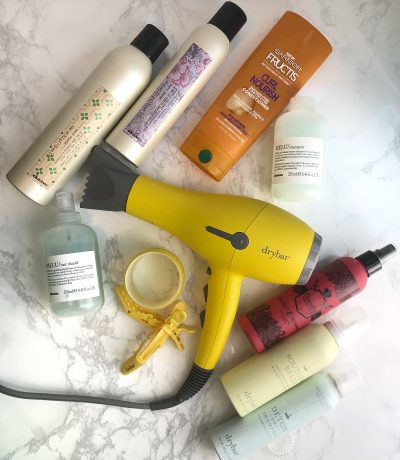 Holy Grail hair products for voluminous curly hair!