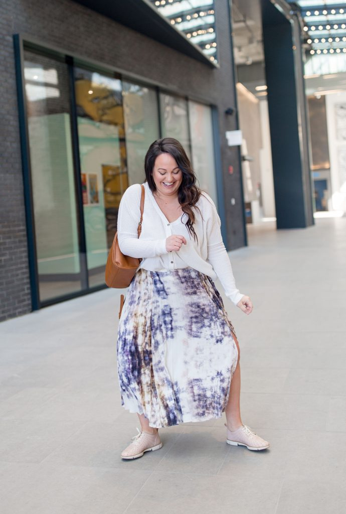 pleated skirt, casual style, sneakers outfit, stacy chatterton williams