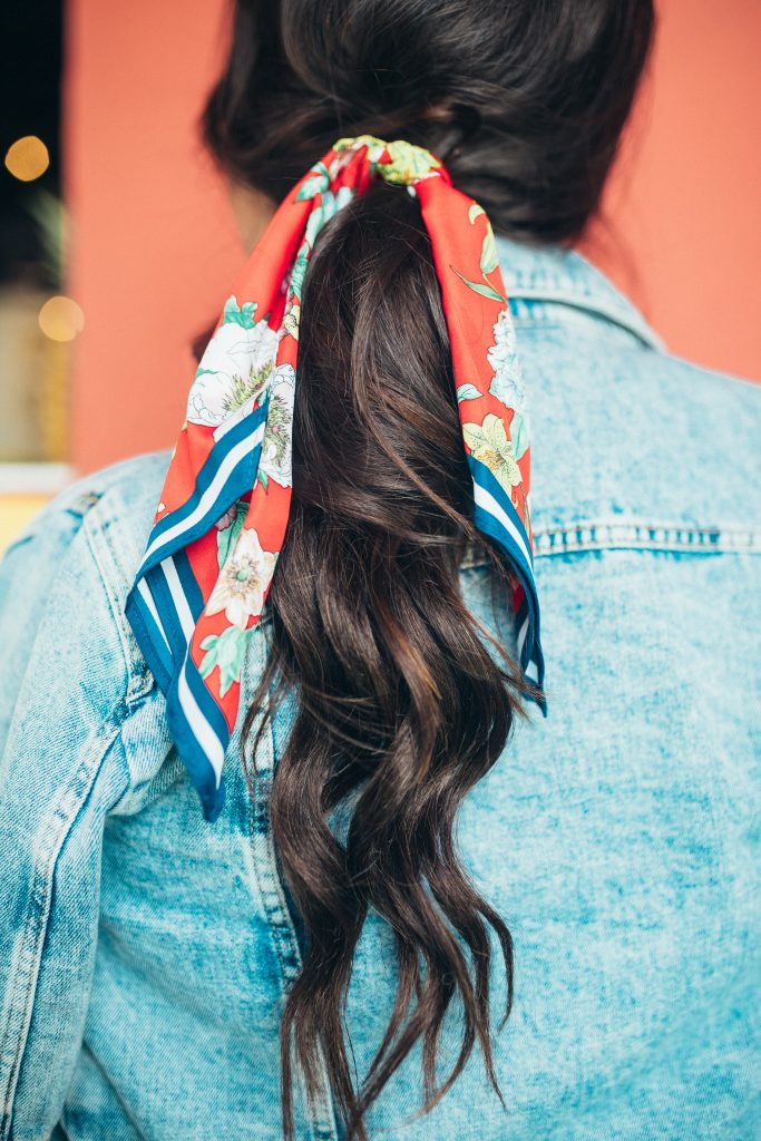 Cheap Hair Scarf- Under $10 Hair Accessories