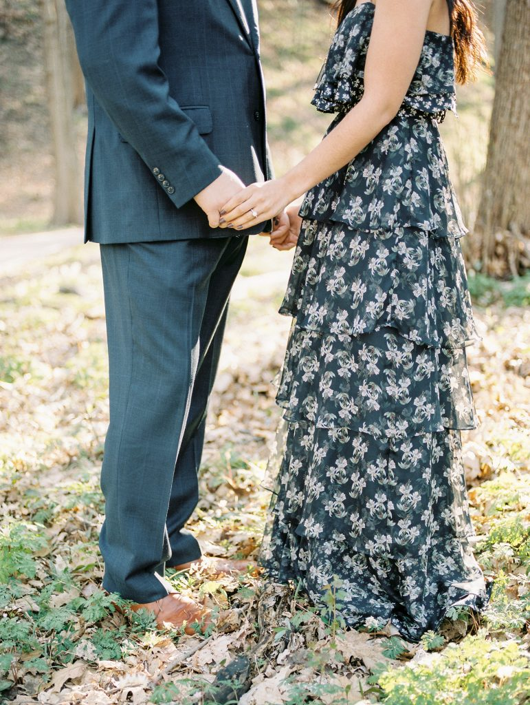 Rosy Mound Engagement Photos