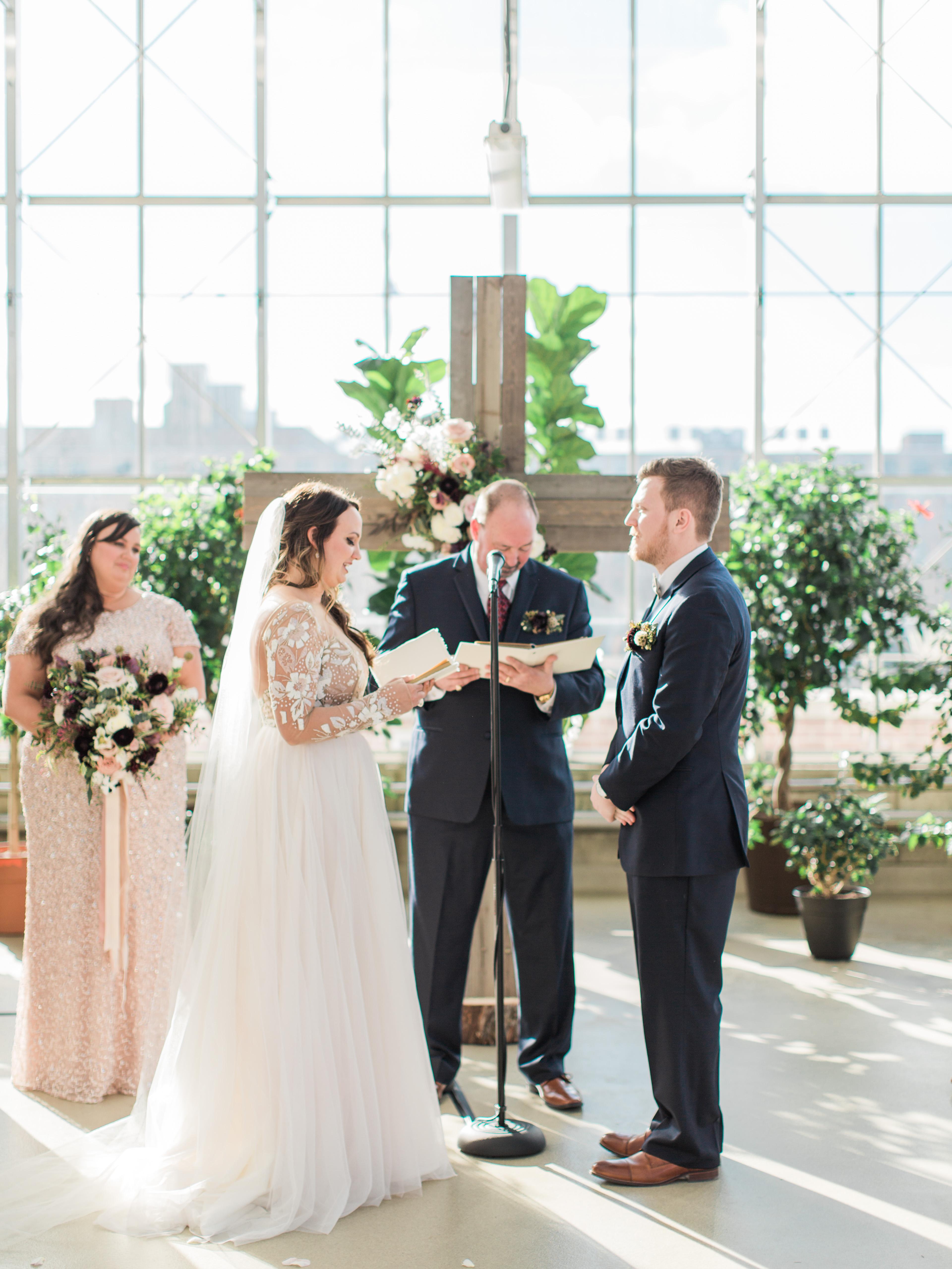 chatterton williams wedding, wedding vows