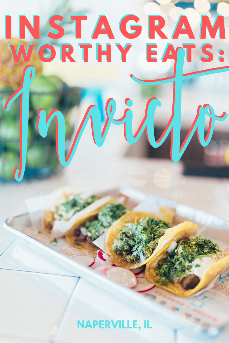 Invicto Naperville, Illinois. The best Mexican food in Chicago suburbs.